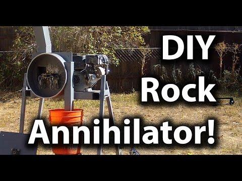 DIY Impact Mill/Rock Crusher - Crush Anything (Gold Ore, Circuit Boards, etc)