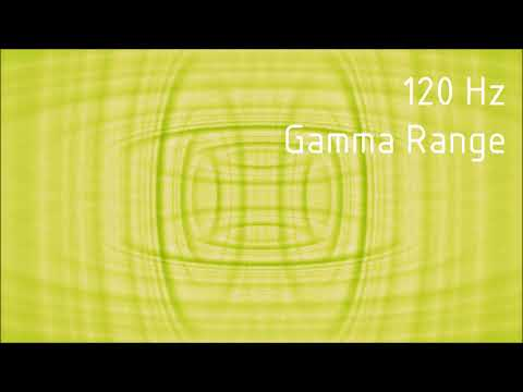Pure 120 Hz Gamma Range Binaural Beats [30 min]