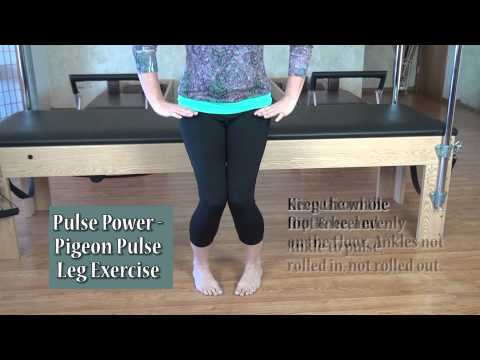 Easy Hip and Leg Exercises - The Pigeon Pulse
