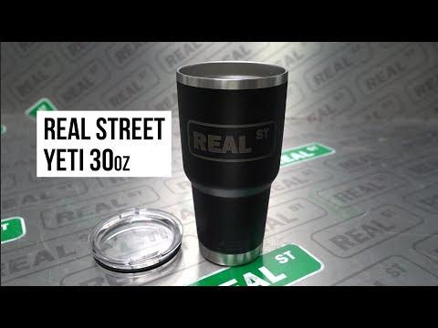 Real Street Limited Edition 30oz Yeti Tumbler