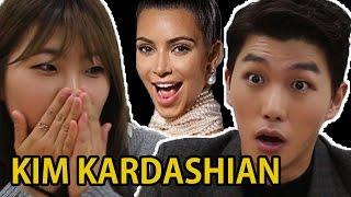 Koreans react to Kim Kardashian