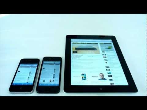 Browser Speed: iPhone 5 vs. iPhone 4 vs. new iPad 3
