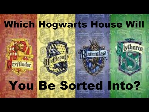 Which Hogwarts House Are You in? - Harry Potter Quiz