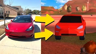 BUYING THE CAR FROM JAILBREAK! (Tesla Model 3)