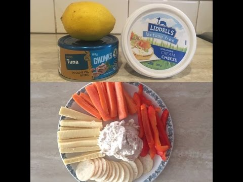 Tuna Dip - Lactose Free, only 3 ingredients & home made