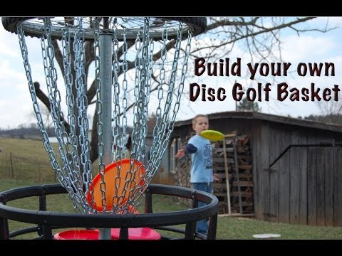Build your own Disc Golf Basket!