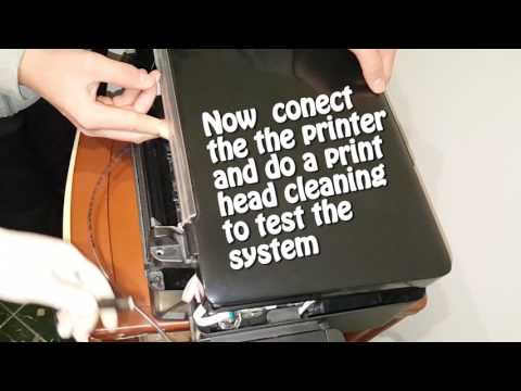 Epson l200  how to add a waste ink  container