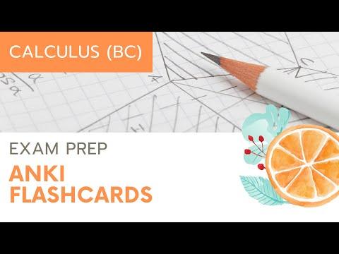 AP Calculus BC Anki LaTeX Flash Cards