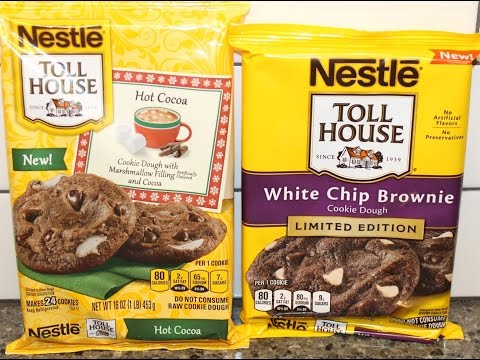 Nestle Toll House Cookies: White Chip Brownie vs Hot Cocoa Blind Taste Test
