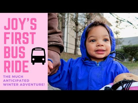 CATCH THE BUS! | Toddler's (MUCH Anticipated) First Ride On The Bus! 🚌