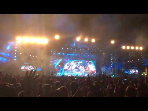 Coachella 2016 weekend 2 Zedd ft. Foxes - Clarity