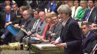 Article 50: Theresa May's Brexit statement in full