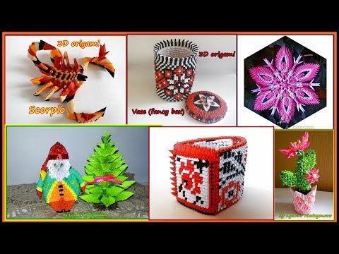 3D ORIGAMI COLLECTION