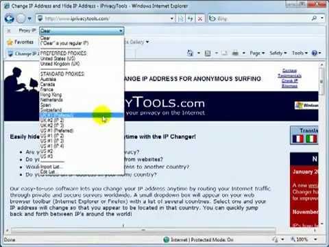 Change ip address on Windows 7-8