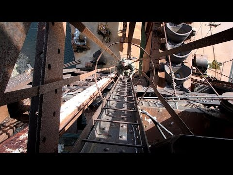 Exploring Abandoned Gold Dredge - You've got to check this out!