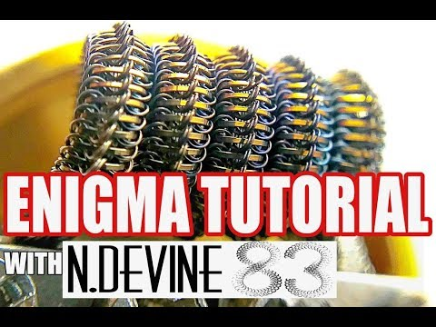 Enigma Coil Build Tutorial Live with N.Devine83 - How to Build an Emigma Coil
