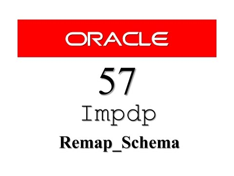 Oracle Database Tutorial 57: IMPDP (REMAP_SCHEMA) how to import table in different user/schema
