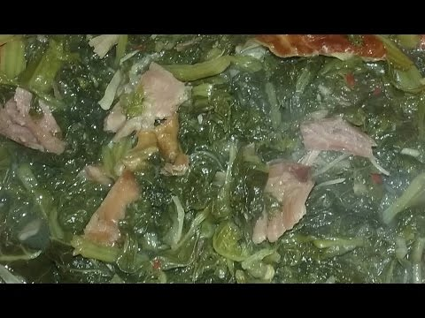 How to Make Savory Southern *Turnip*Mustard* & Kale* Greens...