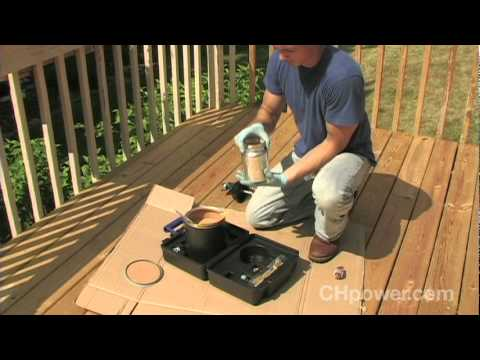 How To Finish A Deck Using Air Powered Tools