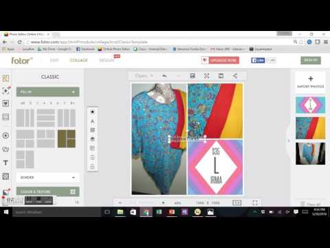 LuLaRoe Graphics - Create A Collage Using Fotor
