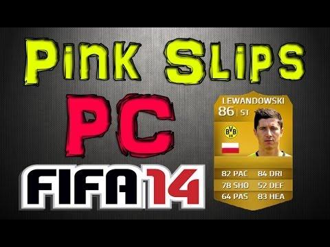 LEWANDOWSKI PINK SLIPS! | PC | FIFA 14