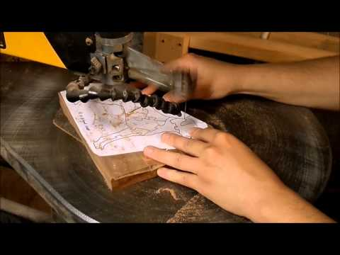 Creating a wooden puzzle: Step 2 - Cutting & Finishing