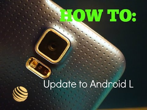 How to update Samsung Galaxy S5 to Android Lollipop! (AT&T, Verizon, Sprint, T-Mobile)