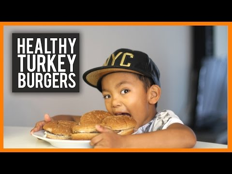 Healthy Kids: Turkey Burgers with Ranch Dressing
