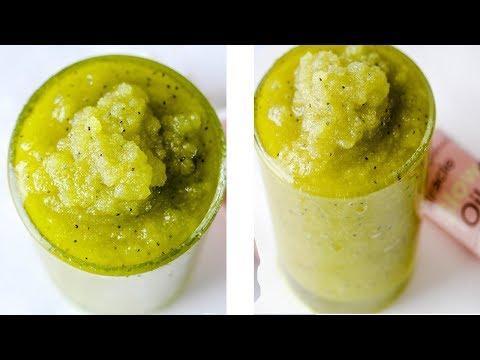 Kiwi Sugar Body Scrub DIY Making Kiwi Exfoliating Body Sugar Scrub DIY