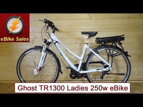 E Bike - Ghost TR1300 Ladies Bafang Mid Drive 250w Electric Bike - eBike
