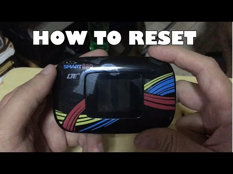 How to Reset Smart Bro LTE Pocket WiFi Password