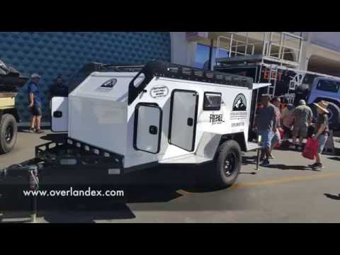 composite walled (no wood) teardrop trailer by Overland Explorer :Offroad Expo 2016