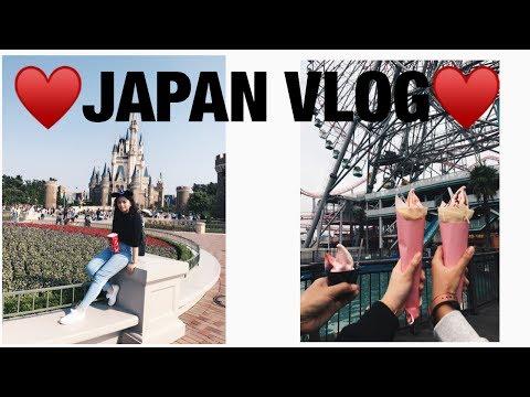 JAPAN VLOG / /TOKYO DISNEYLAND , SHIBUYA  , SENSO-JI TEMPLE