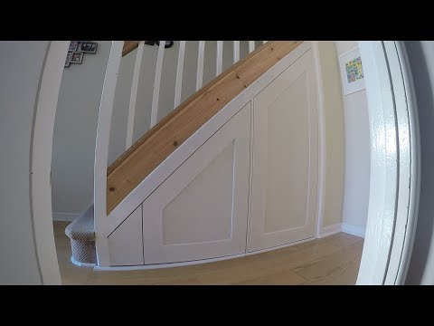 Under Stair Drawer & Door Shaker Style