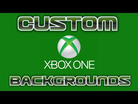 How To Get A Custom Background Wallpaper On Xbox One! New Xbox Experience 2016!