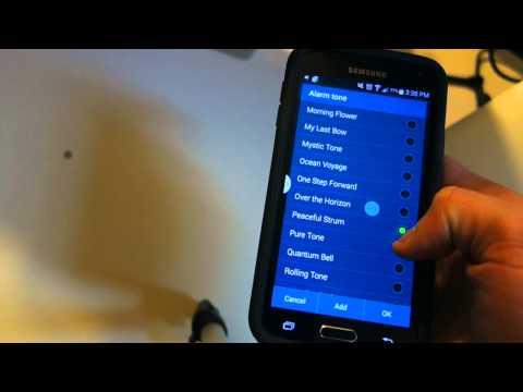 Samsung Galaxy S5 - How to Set an Alarm
