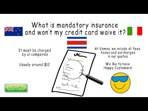 What's Mandatory Insurance? Vamos Rent-A-Car - Official Channel