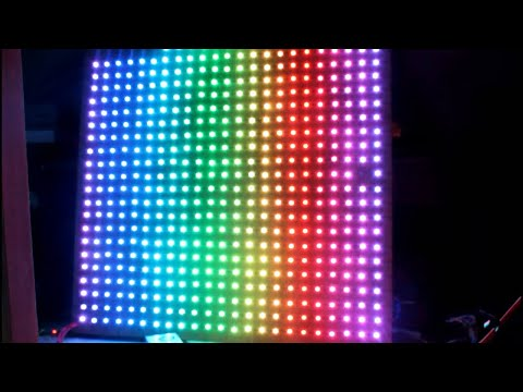How to make large rgb led display at home DIY
