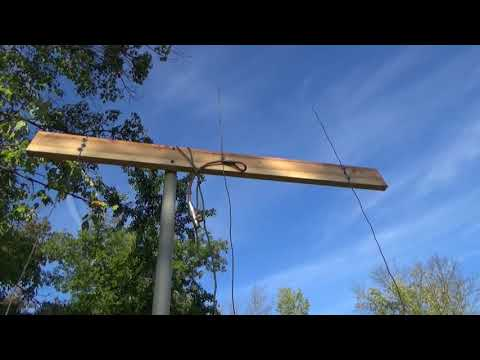 How to build a three element beam antenna, for 2 meters