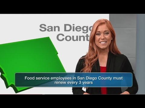 San Diego County Food Handler Card – How to Get Your Food Handler Card Online