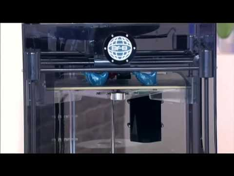 3D Printer demonstrated on the This Morning Show UK