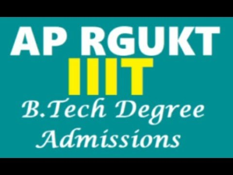 How to apply 6 Years Integrated IIIT B.Tech course in RGKUT AP/TS