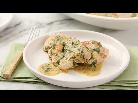 Pan-Seared Turkey Cutlets with Wine Sauce- Martha Stewart