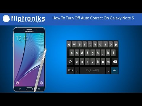 Samsung Galaxy Note 5: How to Enable/Disable Predictive Text - Fliptroniks.com