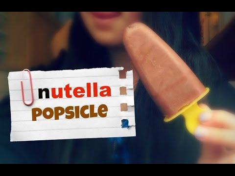 Nutella Popsicles DIY