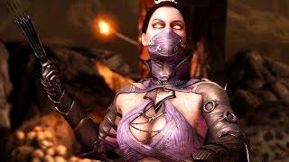 Mortal Kombat X - Kitana Revenant Costume Ladder Walkthrough and Ending