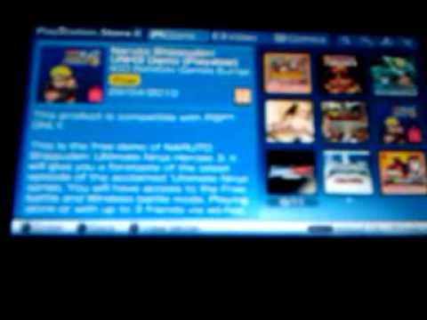 Playstation store on psp 3000