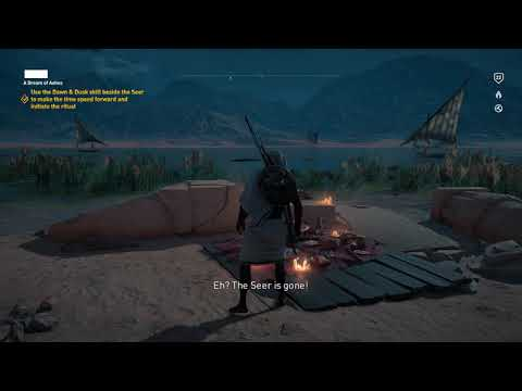 Assassin's Creed Origins Gameplay Episode 5 (4K Resolution)
