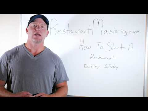 How to Start a Restaurant 01 Feasibility Study