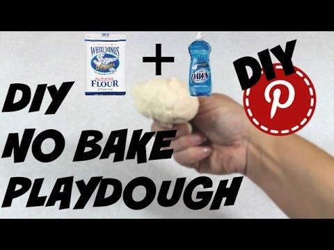 DIY No Bake Playdough - DIY Pinterest